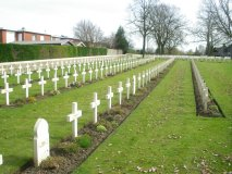 Poperinge (New military cemetery)